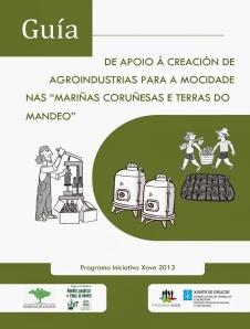 GUIA DE APOIO A CREACION DE AGROINDUSTRIAS PARA A MOCIDADE NAS MARIÑAS CORUÑESAS E TERRAS DO MANDEO