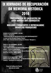 Cartel Memoria Histórica 2014 - Curvas.