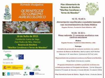 XornadaOsbeneficiosConsumo agroecolóxicosostibles16Xuño2015